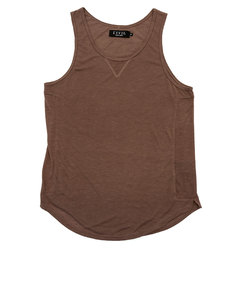 Civil Clothing Cooper Slub Drop Tank Mauve Men L