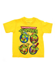Tmnt Ninja Mutant Turtles Yellow Boys T-Shirt