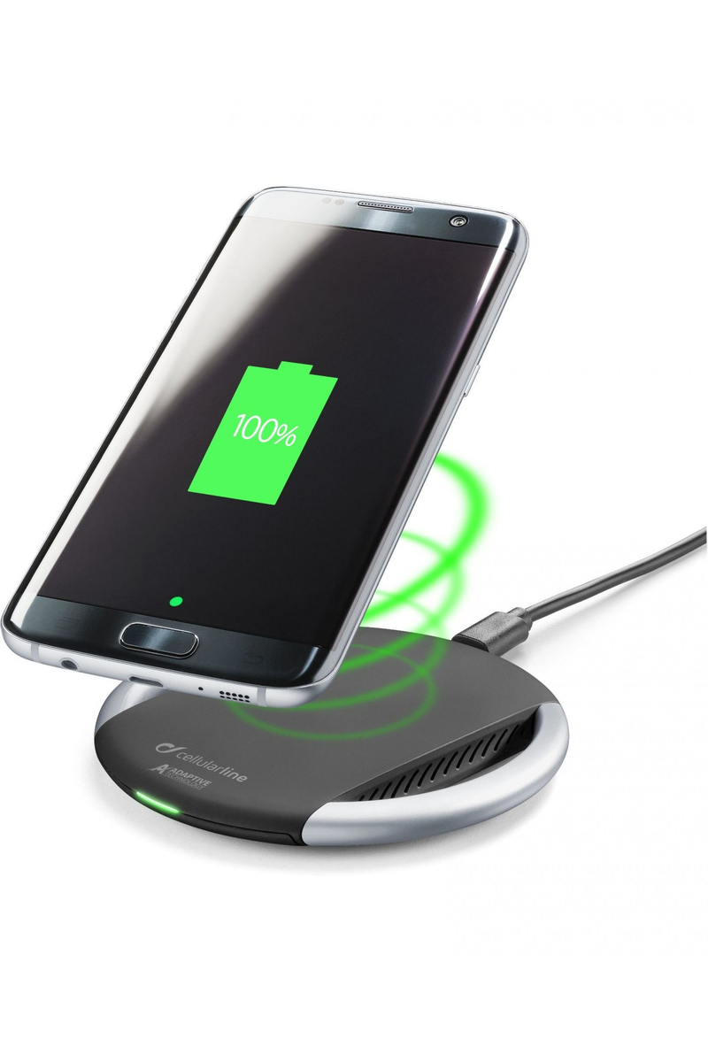 Cellular Line Wireless Fast Charger Adaptive Black