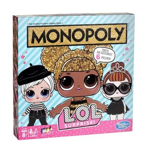 Hasbro Monopoly L.O.L. Surprise Edition