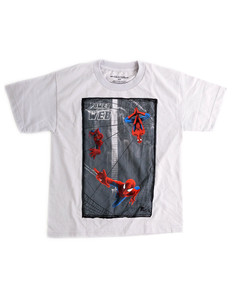 Spiderman Lobster-M Silver Youth T-Shirt