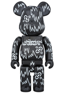 Bearbrick Chemical Brothers 400 Percent Figure