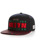 Cayler & Sons Black/Forest Green/Red Cap
