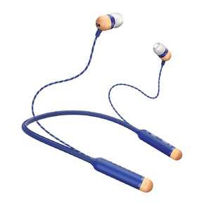 The House of Marley Smile Jamaica Wireless Denim Bluetooth In-Ear Earphones