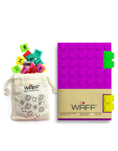 Waff Combo Purple Medium Notebook