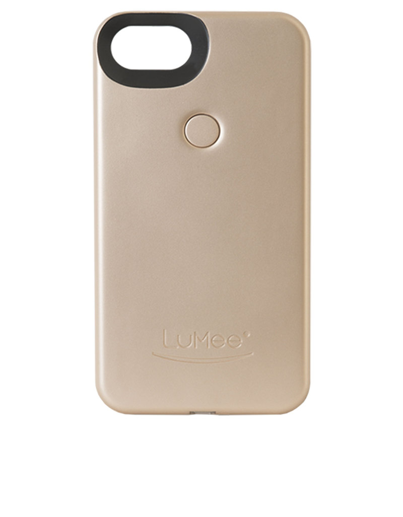 official photos 5fd75 b39a2 LuMee Duo Case Gold Matte for iPhone 7 Plus