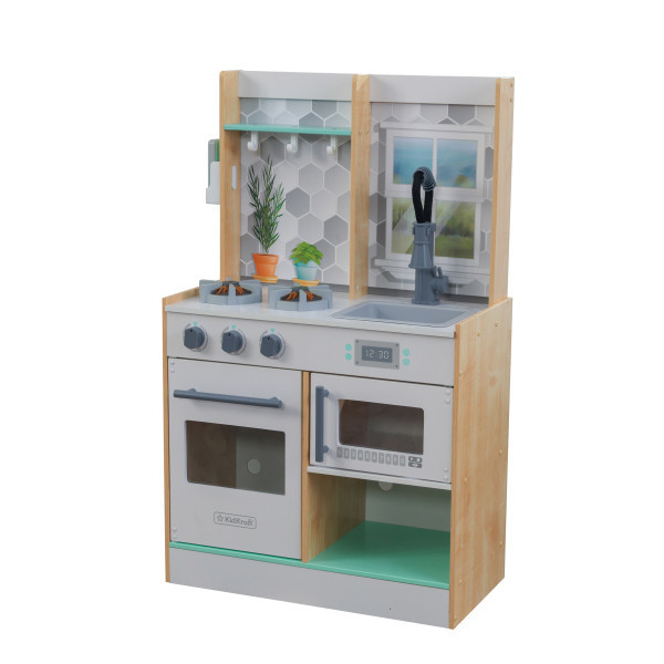 Kidkraft Let S Cook Play Kitchen Natural Dollhouses Playhouses