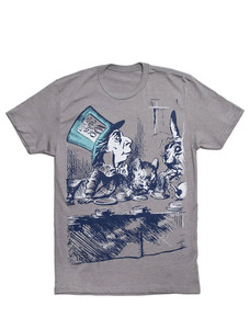 Alice In Wonderland Stone Men's T-Shirt