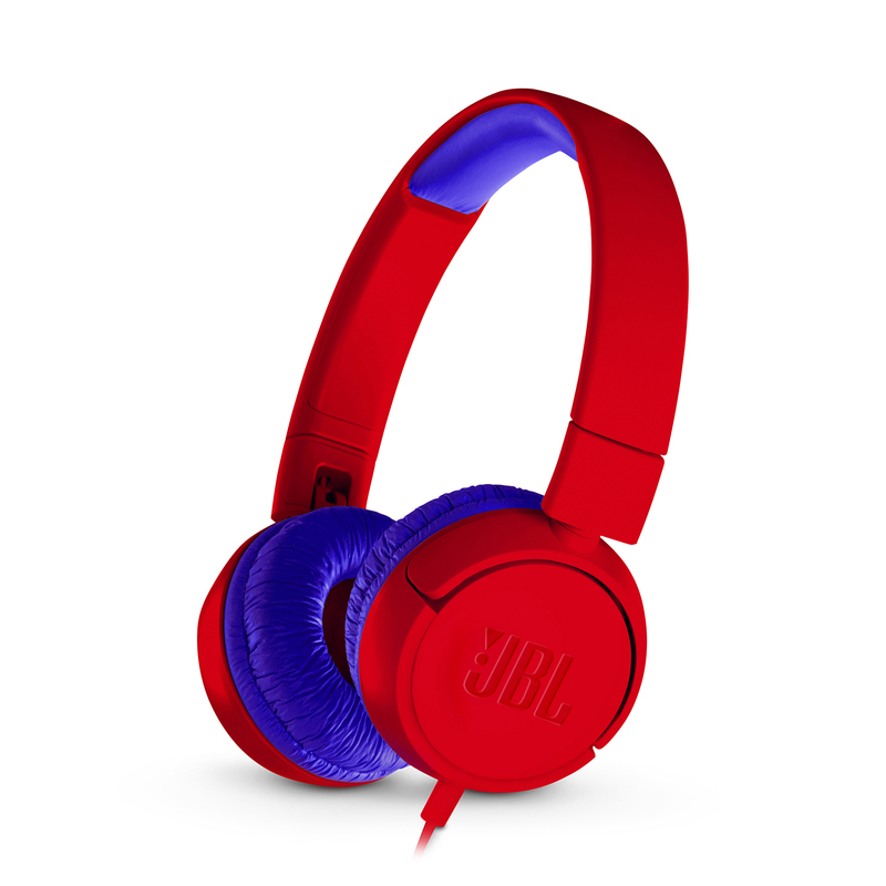 jbl junior 300 red headphones on ear headphones headphones headphones audio. Black Bedroom Furniture Sets. Home Design Ideas