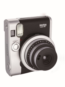 Fujifilm instax mini 90 NEO CLASSIC Black/Stainless Steel Instant Camera