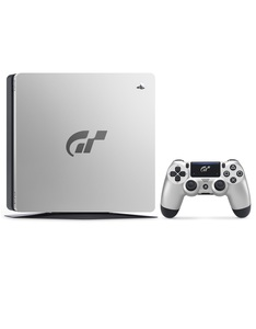 Sony PS4 Slim 1TB 2116B Jet Black Gran Turismo Sport Limited Edition Console