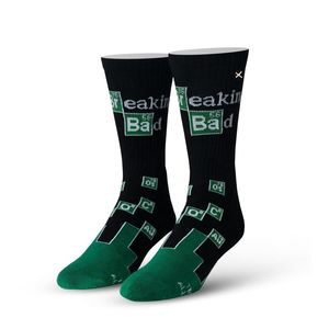 Odd Sox Breaking Bad Chemistry Knit Men's Socks [Size 6-13]