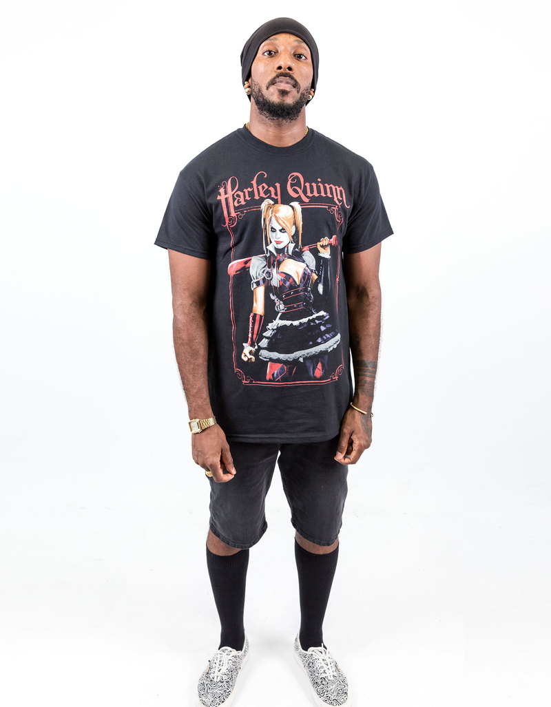 Black t shirt mens - Changes Dc Comics Harley Quinn Black T Shirt