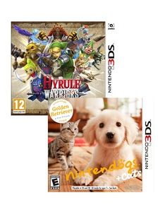 Hyrule Warriors Ltd. Edition +Nintendogs Golden Retriever [Bundle]