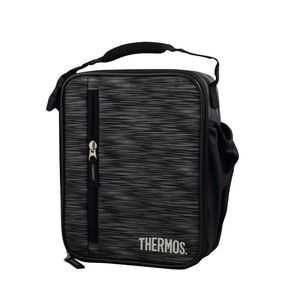 Thermos Upright Boy's Lunch Bag Black/Gray