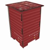 Werkhaus Stool Red Container