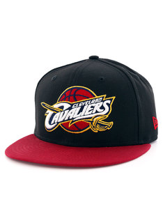 New Era Black Base Cleveland Cavs Black/Maroon Cap