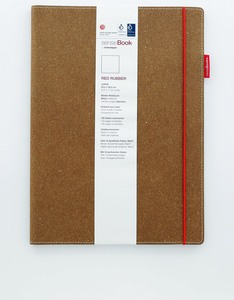 Sencebook Red Rubber Large Blank A4