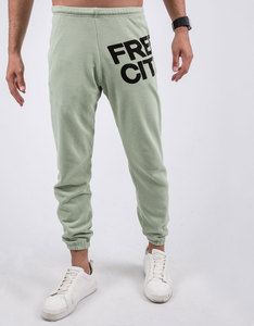 Freecity Large Featherweight Clay Sound Sweatpants M