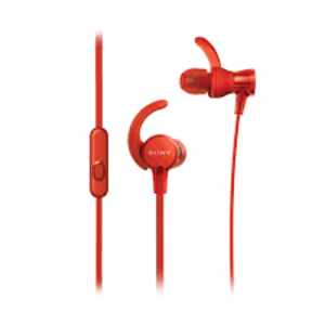 Sony MDR-XB510AS Red Sports Extra Bass In-Ear Earphones