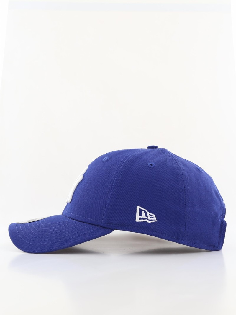 a75bff535cb ... New Era 9Forty League Basic NY Yankees Light Royal White Cap