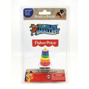 Worlds Smallest Fisher Price Classic Rock -A-Stack