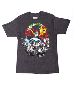 Mad Engine Team Ups Assault Team Charcoal Heather T-Shirt