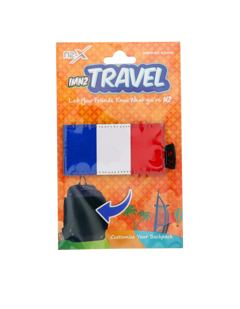N2X Flag France Velcro Patch