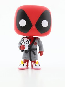 Funko Pop Deadpool Playtime Deadpool In Robe Vinyl Figure