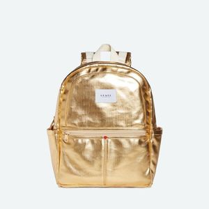 State Bags Kane Gold Coated Camo Backpack