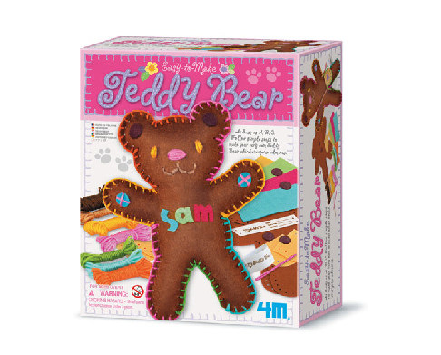 4M Easy-To-Make Teddy Bear Craft Kit