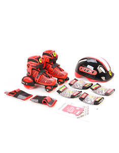 Ferrari My First Skate Combo Set Fk10-1 Red: Size 26-29