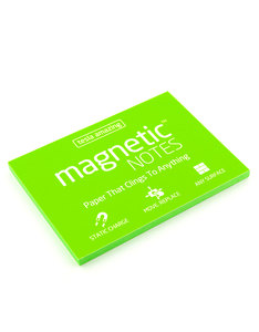 Magnetic Notes Green M