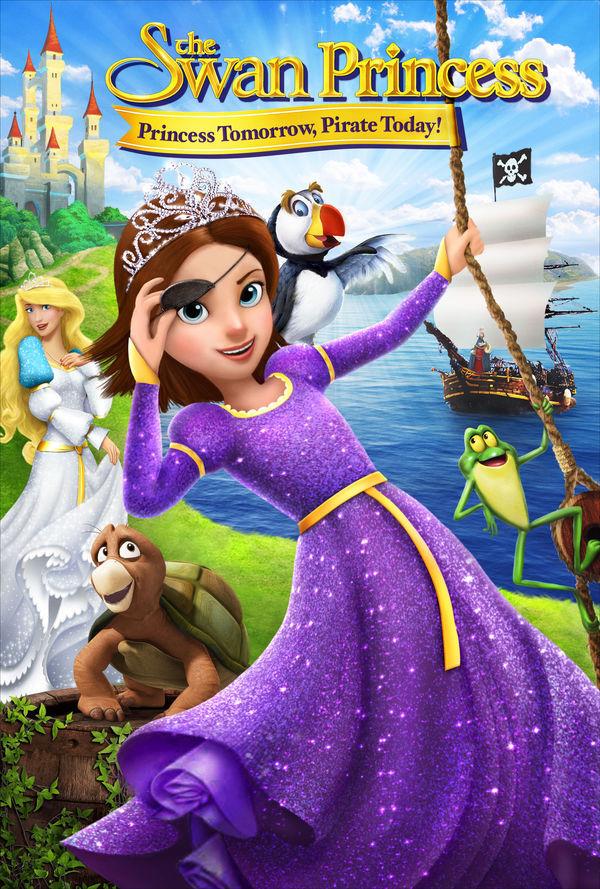 the swan princess princess tomorrow pirate today kids family
