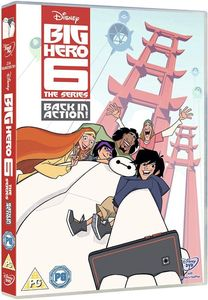 Big Hero 6 The Series Back In Action Dvd