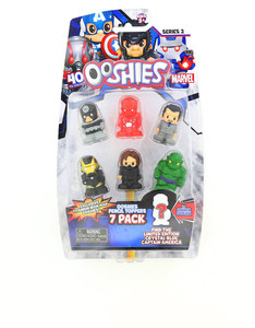 Ooshies Marvel: Series 2 Pencil Toppers [Pack of 7]