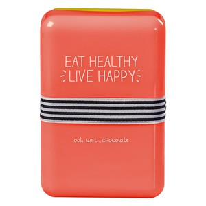 Happy Jackson Eat Healthy Live Happy Lunch Box