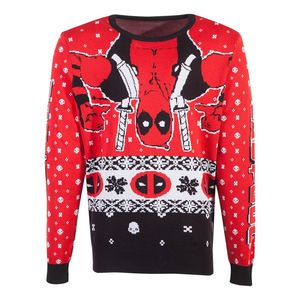 Difuzed Marvel Deadpool Knitted Unisex Jumper