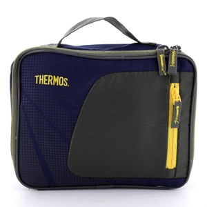 Thermos Standard Lunch Kit Navy/Yellow