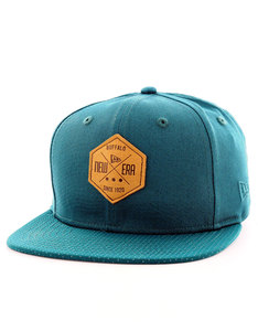 New Era Hex Patch Snap Pine Needle Green Cap
