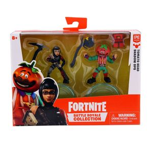 Fortnite Battle Royale Collection S2 Tomatohead & Shadow Ops 2 Inch Duo Pack