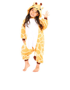 Giraffe Kids Kigurumi Fleece Costume