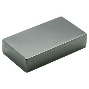 Lund Luxe Gunmetal Hinged Box Classic
