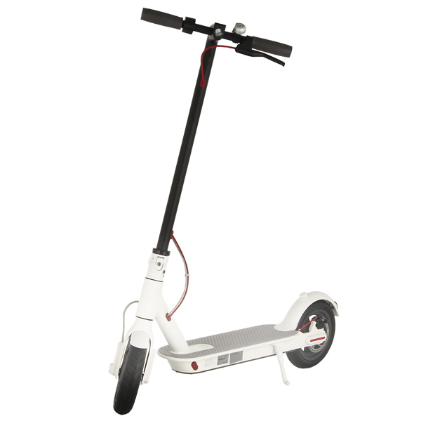 xiaomi mi electric scooter white scooters outdoor. Black Bedroom Furniture Sets. Home Design Ideas