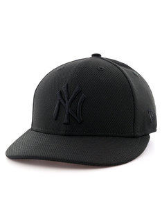 New Era Diamond Era Lp NY Yankees Black/Black Cap