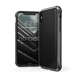 X-Doria Defense Lux Case Black Carbon Fiber for iPhone XS