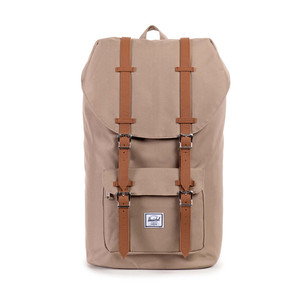 Herschel Little America Brindle/Tan Synthetic Leather Backpack