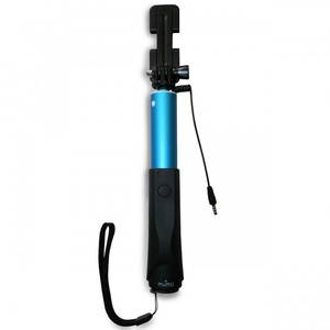 Puro Selfie Monopod 83cm Blue with 35mm Cable Jack