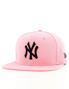 New Era Ne True Originators NY Yankees Bright Rose/Black Cap