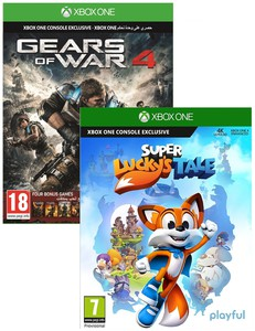 Super Lucky's Tale + Gears Of War 4